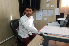 بهمن ایمری کارشناس مدارک پزشکی  مسئول واحد مدیریت اطلاعات سلامت